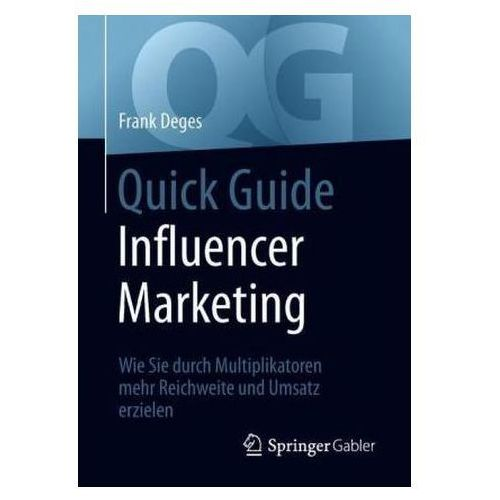 Biblioteka biznesu, Quick Guide Influencer Marketing Deges, Frank