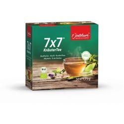 JENTSCHURA Herbata7x7 50 Saszetek BIO