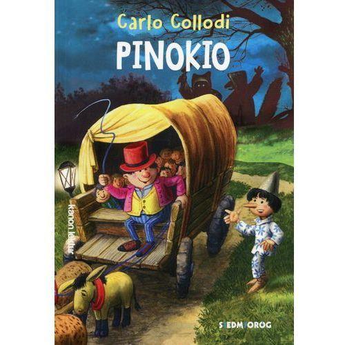 Książki dla dzieci, Pinokio - Carlo Collodi (opr. miękka)