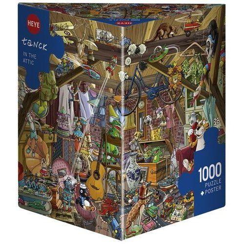 Puzzle, Puzzle 1000 elementów - Zabawa na strychu - DARMOWA DOSTAWA OD 199 ZŁ!!!