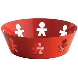 Alessi Kosz okrągły ze stali nierdzewnej czerwony, mały (AKK03 O) Darmowy odbiór w 21 miastach!