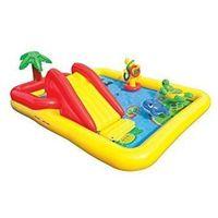 Zabawki dmuchane, Intex Basen dmuchany Plac zabaw zjeżdzalnia Ocean 57454