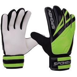 Rękawice bramkarskie SPOKEY Hold (rozmiar 7) Czarno-biało-zielony