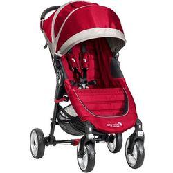 Baby Jogger City Mini 4 koła, Crimson/Gray - BEZPŁATNY ODBIÓR: WROCŁAW!