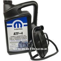 Filtry oleju do skrzyni biegów, Olej MOPAR ATF+4 oraz filtr automatycznej skrzyni biegów NAG1 Jeep Wrangler 2012-