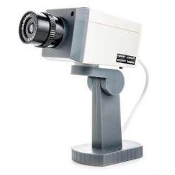 Obrotowa Atrapa Kamery (z detekcją ruchu) + Pulsująca Dioda LED + Regulacje.