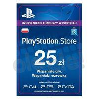 Kody i karty przedpłacone, Sony PlayStation Network 25 zł [kod aktywacyjny]