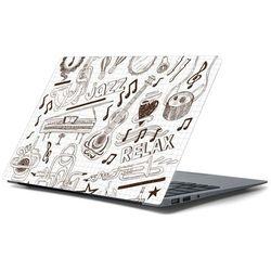 Naklejka na laptopa - Muzyczne szkice 4420