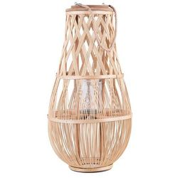 Lampion jasne drewno 75 cm TONGA