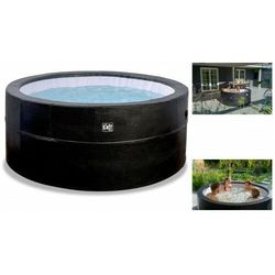 EXIT SPA jacuzzi hydromasaż Leather Premium Whirlpool 184 cm 4osoby