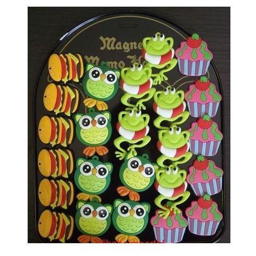 Magnesy na lodówkę, MAGNES MAGNESY NA LODÓWKĘ-- zwierzątka ciastka
