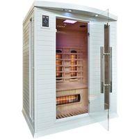 Sauny, Sauna infrared z koloroterapią DH3 GH White