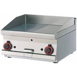 Płyta grillowa gładka chromowana | 595x450mm | 9000W | 600x600x(H)280mm