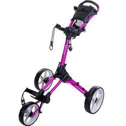 Manualny wózek golfowy FASTFOLD SQUARE (różowo-biały) (8719407067562)