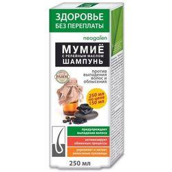 Korolev farm Szampon mumio z olejkiem łopianowym przeciw wypadaniu włosów 250 ml (7640123862791)