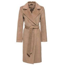 Płaszcz wielbłądzia wełna marki Bonprix