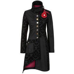 Krótki płaszcz bonprix czarny, w 8 rozmiarach