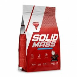 TREC SOLID MASS 1000 g MEGA GAINER NA MASĘ truskaw, 5901828342424