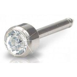 long bezel crystal 4 mm marki Blomdahl