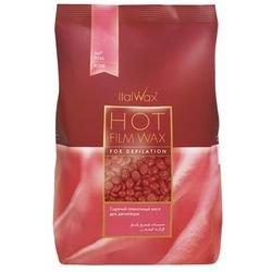 ItalWax Rose Film wax - wosk twardy w granulkach do depilacji bezpaskowej niskotemperaturowy 500 gram