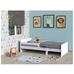 Łóżko rosnące zelly - 90 × 140/170/200 cm - bielony świerk marki Vente-unique.pl