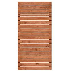 Werth-holz Płot ażurowy 90x180 cm drewniany goteborg wiśnia (5902860166634)