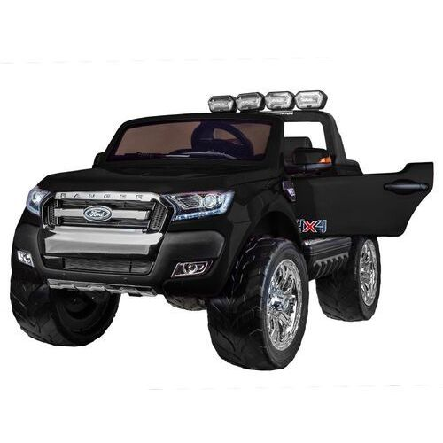 Jokomisiada Ford ranger 4x4 czarny dwuosobowe auto dla dzieci +kluczyki + pilot!