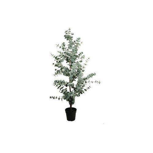 Sia Sztuczne drzewko eukaliptusa w donicy madic – wysokość 147 cm – kolor zielony
