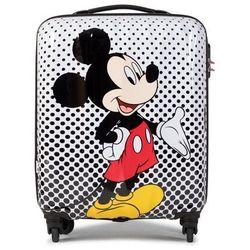 Mała Twarda Walizka AMERICAN TOURISTER - Disney Legend 92699-7483-1CNU Mickey Mouse Polka Dot