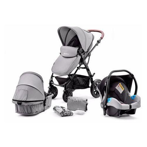 KinderKraft Wielofunkcyjny wózek 3w1 Moov Grey, KKWMOOVGRY00NC