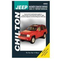 Biblioteka motoryzacji, Jeep Wagoneer, Commanche i Cherokee 1984 - 2001