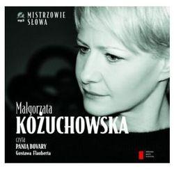 Małgorzata Kożuchowska czyta 'Panią Bovary. Audiobook + książka