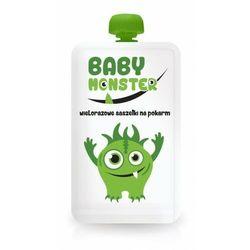 Baby Monster - Saszetka wielorazowa na pokarm 170ml
