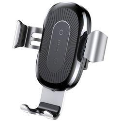 Baseus Wireless Charger uchwyt i ładowarka QI Srebrny