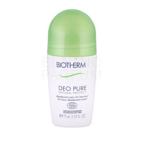 Inne zapachy dla kobiet, Biotherm Deo Pure Natural Protect BIO 75ml W Deo Roll-on