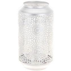 Ażurowa latarenka, lampion w kolorze białym