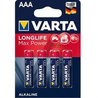 Baterie, Baterie AAA LR03 VARTA Max Tech (4 szt.)