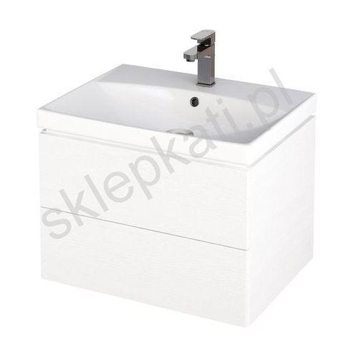 Szafki łazienkowe, CERSANIT CITY Szafka podumywalkowa 60, biała S584-003