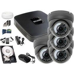 Zestaw do monitoringu: Rejestrator BCS-XVR0801E, 4x Kamera LV-AL40MVD, 1TB, akcesoria