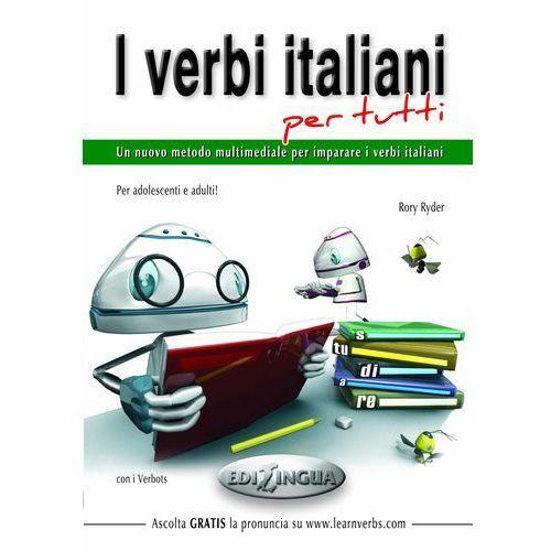 Książki do nauki języka, I verbi italiani per tutti (opr. miękka)