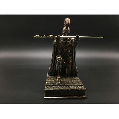 Rzeźby i figurki, RZYMSKI DOWÓDCA – STOJAK NA DŁUGOPIS I NOŻYK DO LISTÓW VERONESE WU77407A4
