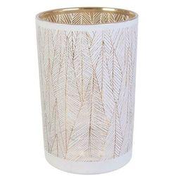 Intesi Tauri biało-złoty wazon