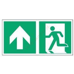 Znak Kierunek do wyjścia ewak. strz. w górę E01-GG