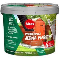Impregnat Altax Jedna Warstwa drewno/beton tik 10 l