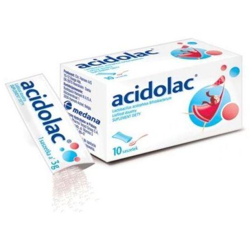Leki na biegunkę, Acidolac liof.doustny 3 g 10 sasz.a 3g