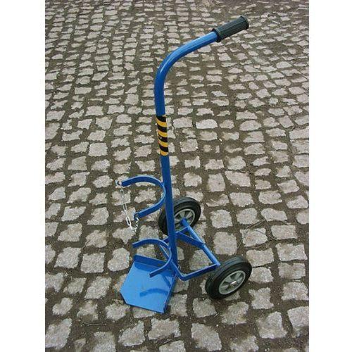 Akcesoria spawalnicze, Wózek spawalniczy 1 butla 10 L kółka pełne promocja!
