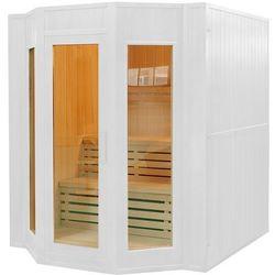 Sauna fińska z piecem E5-1 White Oferta specjalna! Teraz kupisz 15% taniej.
