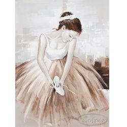 Ręcznie malowany obraz Baletnica 60x80