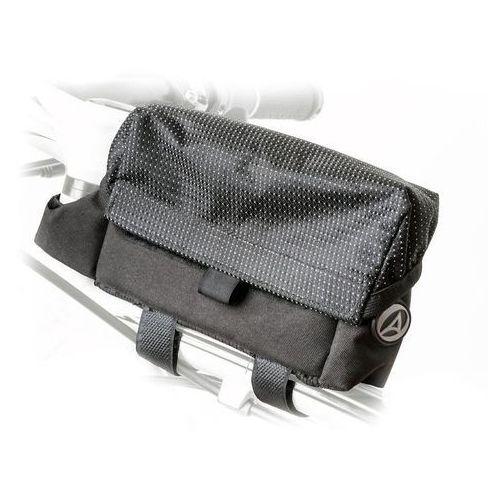 Sakwy, torby i plecaki rowerowe, 15-001085 Torba na przód ramy (górna) AUTHOR A-R250T, czarna