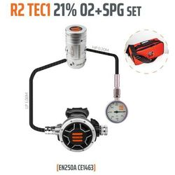 Tecline R2 TEC1 21% O2 G5/8 z manometrem, zestaw stage - EN250A